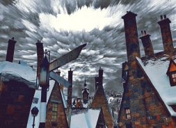 Hogsmeade iphone edit