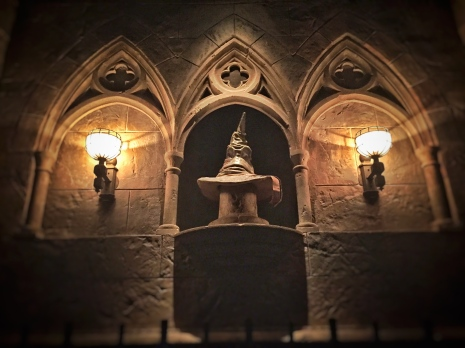Sorting Hat in Gringott's Bank