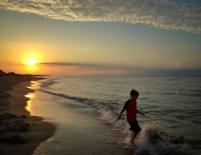 Early morning St George Island