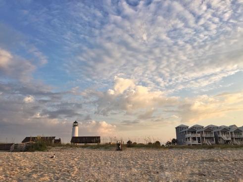 Morning on St George Island