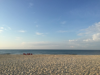 Relax and unwind on the uncrowded beach at St George Island