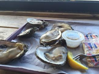 Apalach oysters
