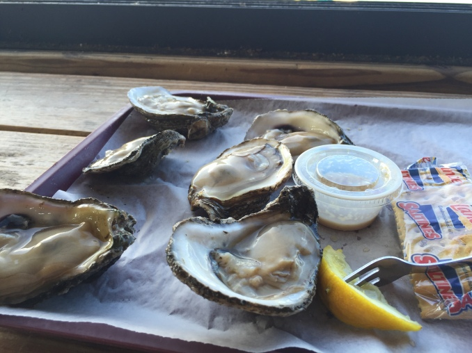 Apalach oysters