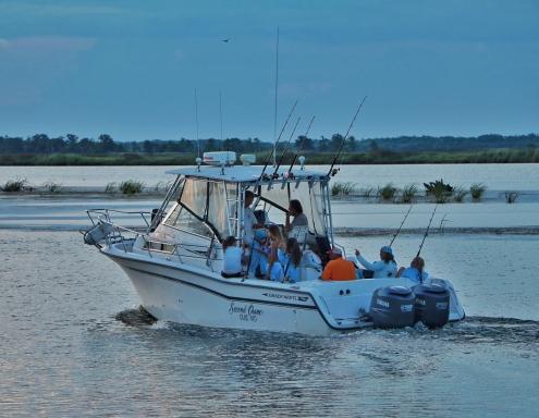 Fishing in Apalachicola