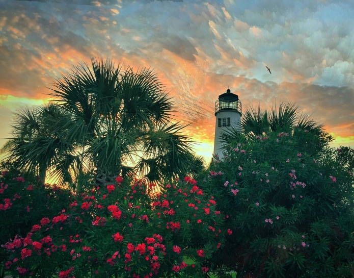 Lighthouse on St George Island