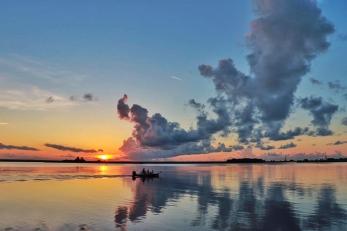 Sunrise overlooking the Apalachicola River